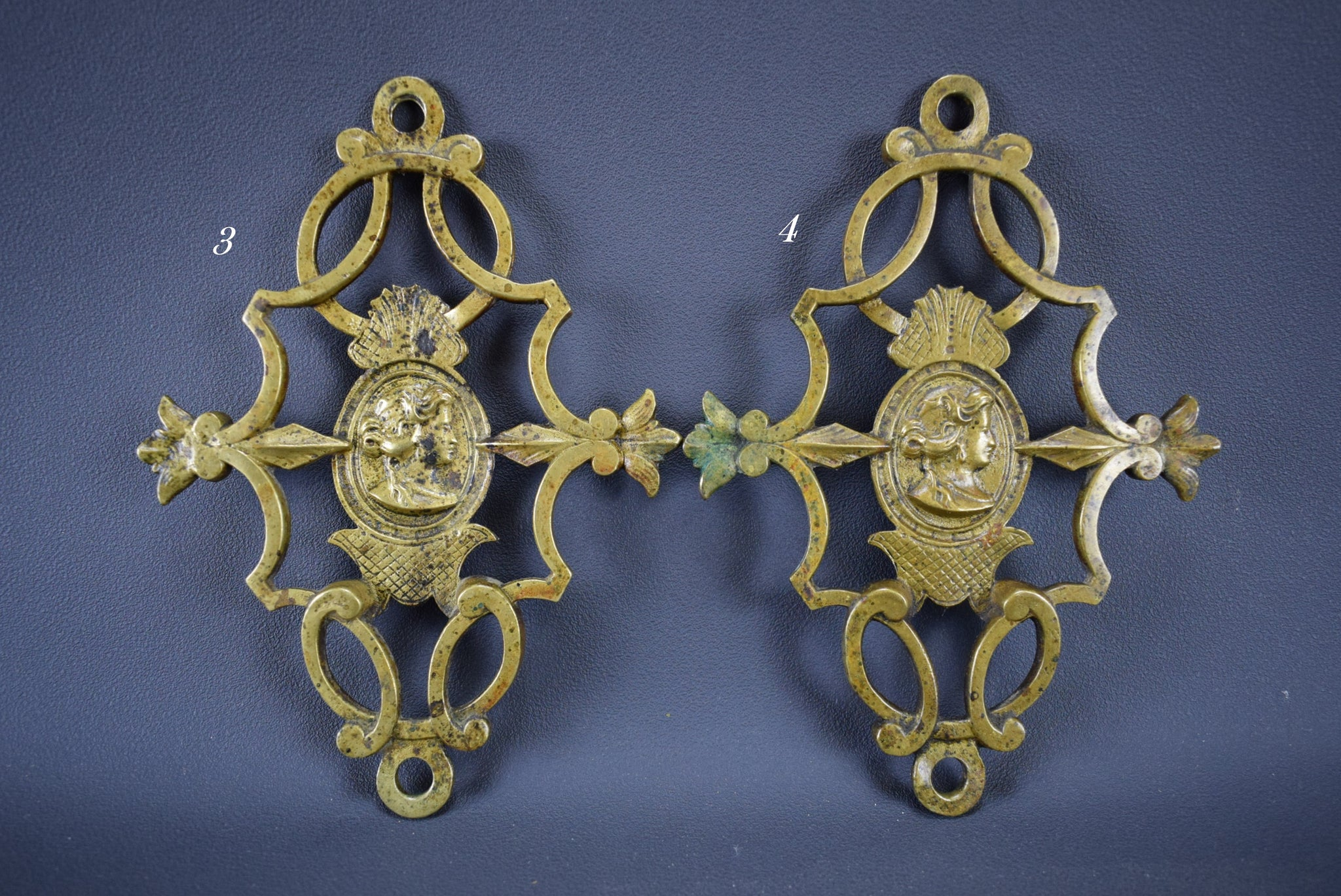 Neo Classical Bronze Hardware - Charmantiques