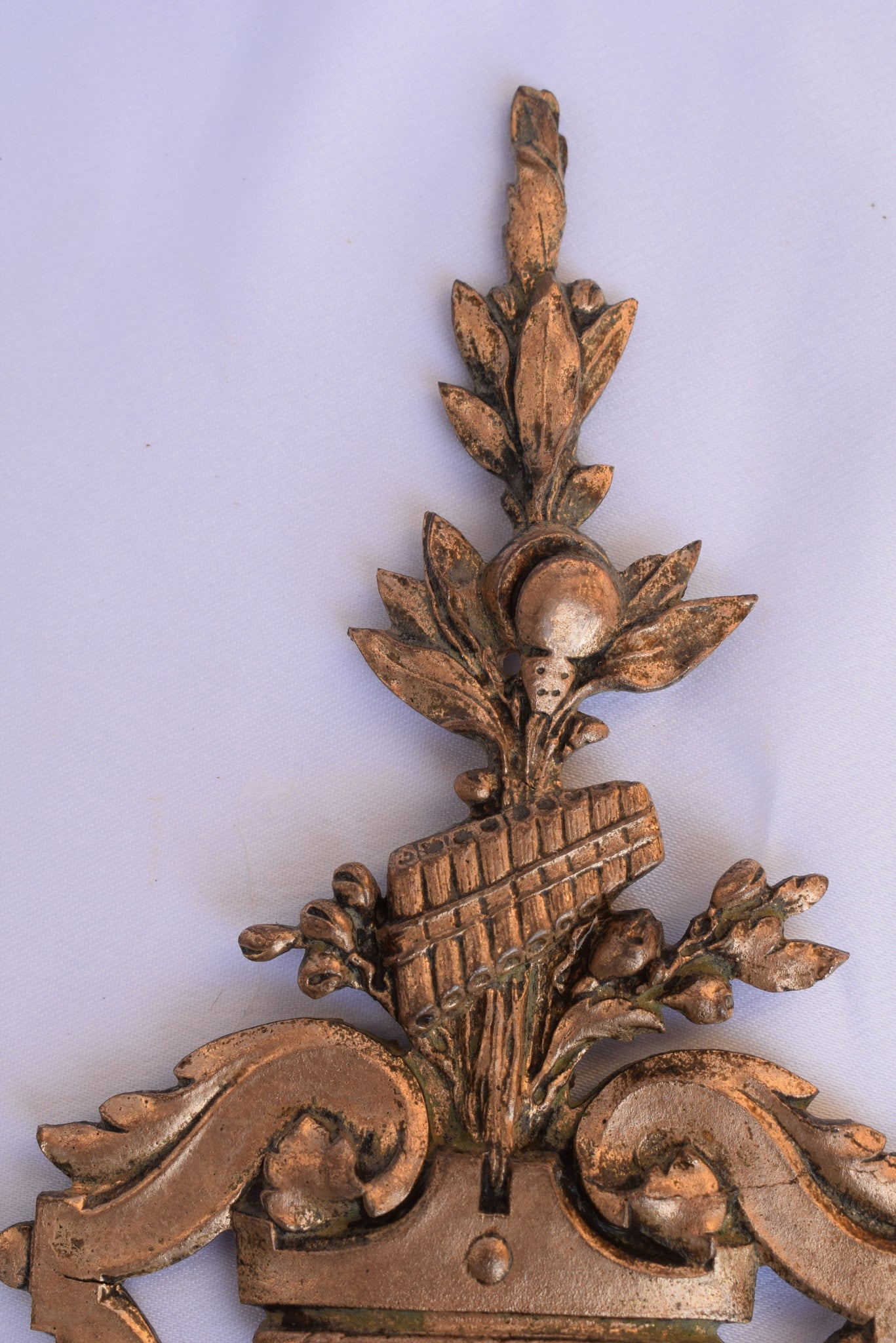 Stamped Bronze Ornament - Charmantiques