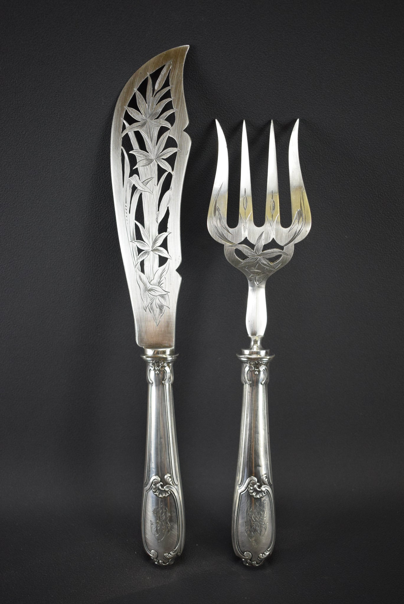 Louis XV 2pc Fish Server
