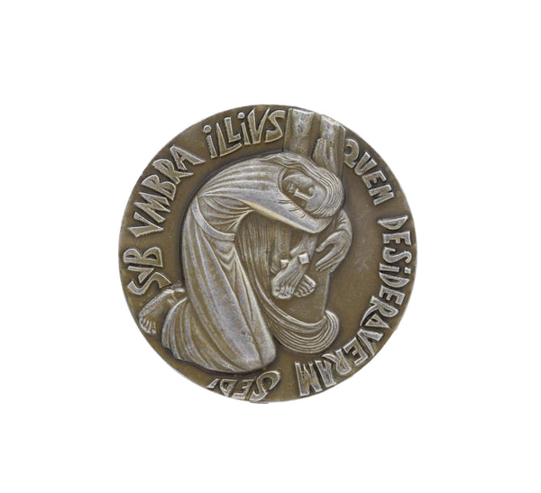 Saint Mary Magdalene Table Bronze Medal