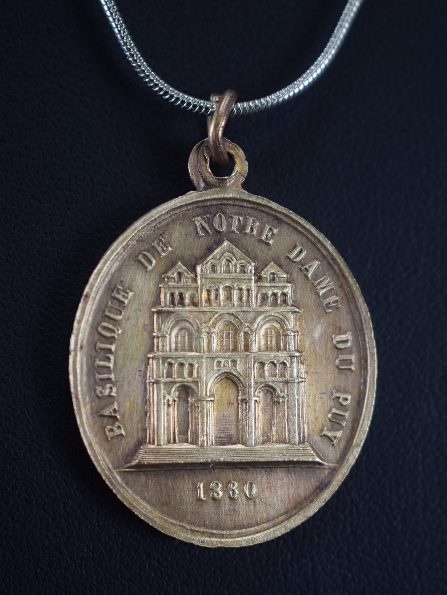 ND de France Medal 1880 - Charmantiques