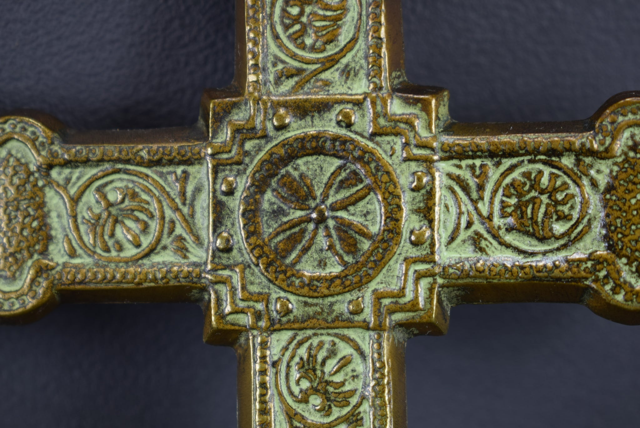 Max Le Verrier Bronze Wall Cross