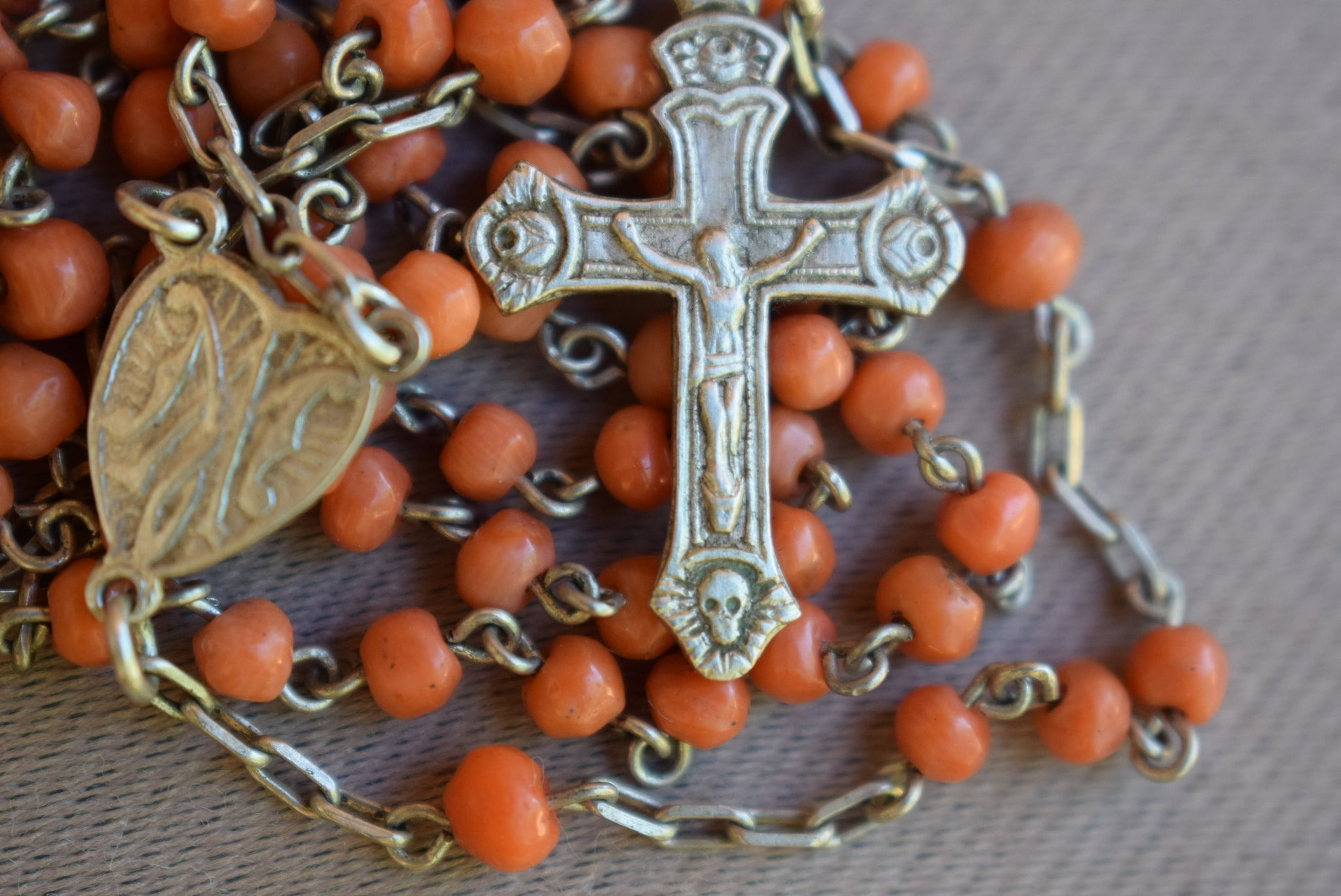 Coral Rosary - Charmantiques