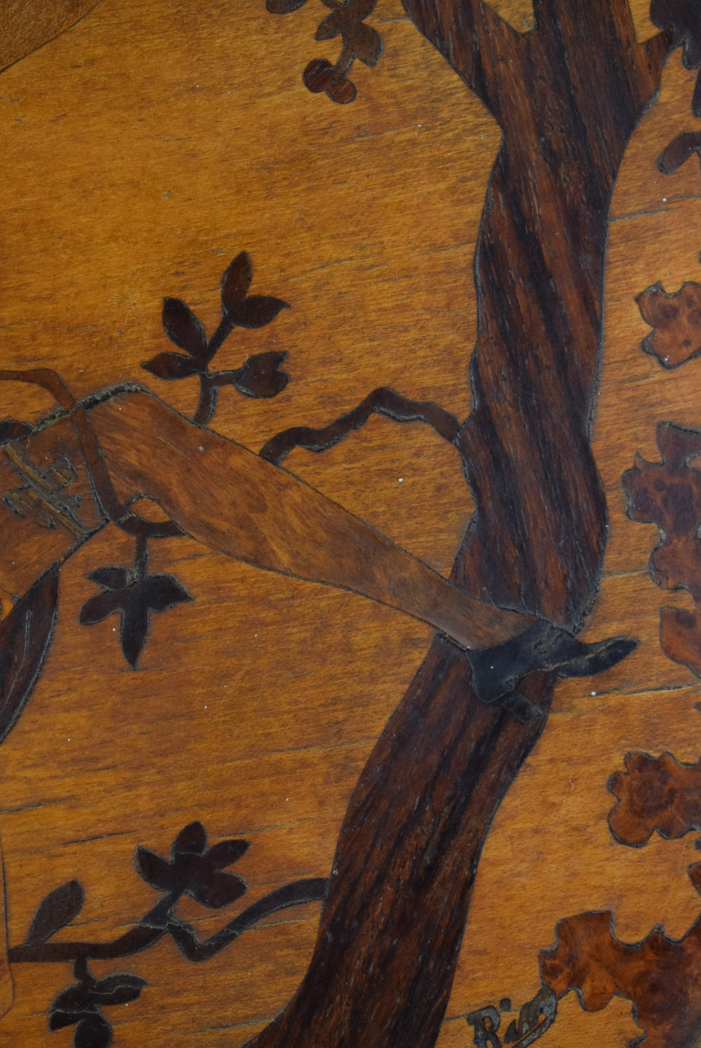 Art Deco Woman Marquetry