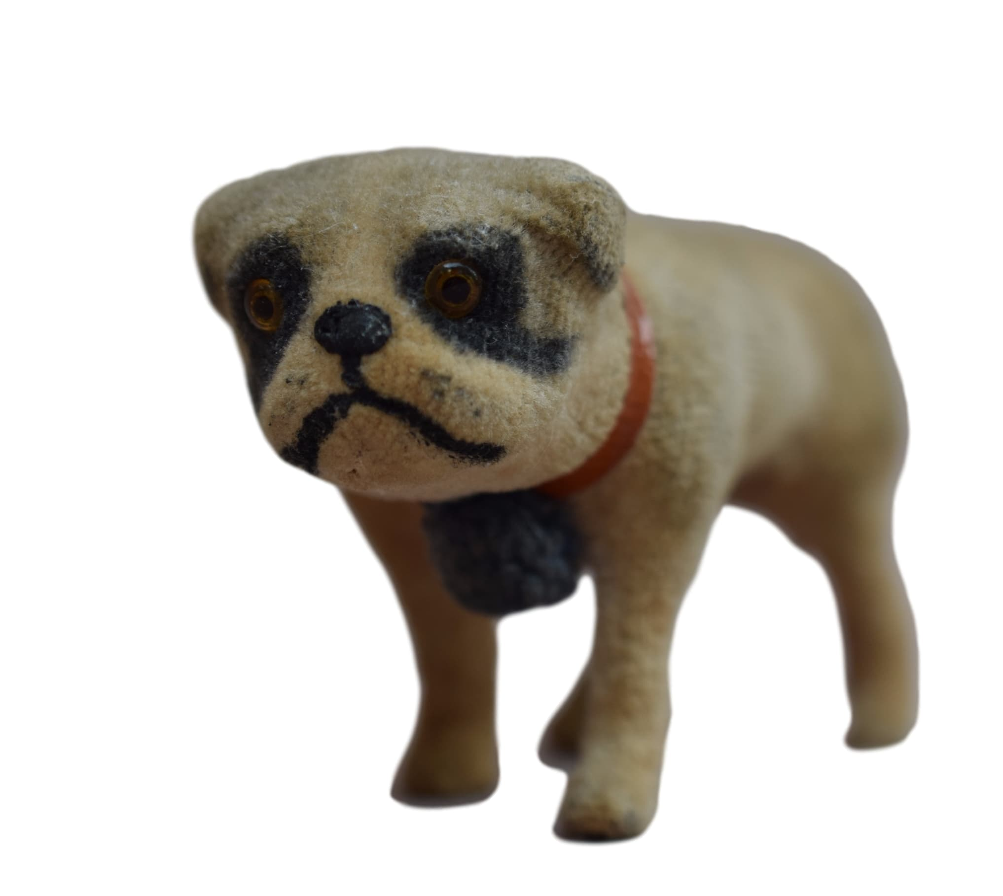 Antique Pug Carlin Putz Dog - French Fashion Doll Germany - Old Toy Children Colectible Handmade
