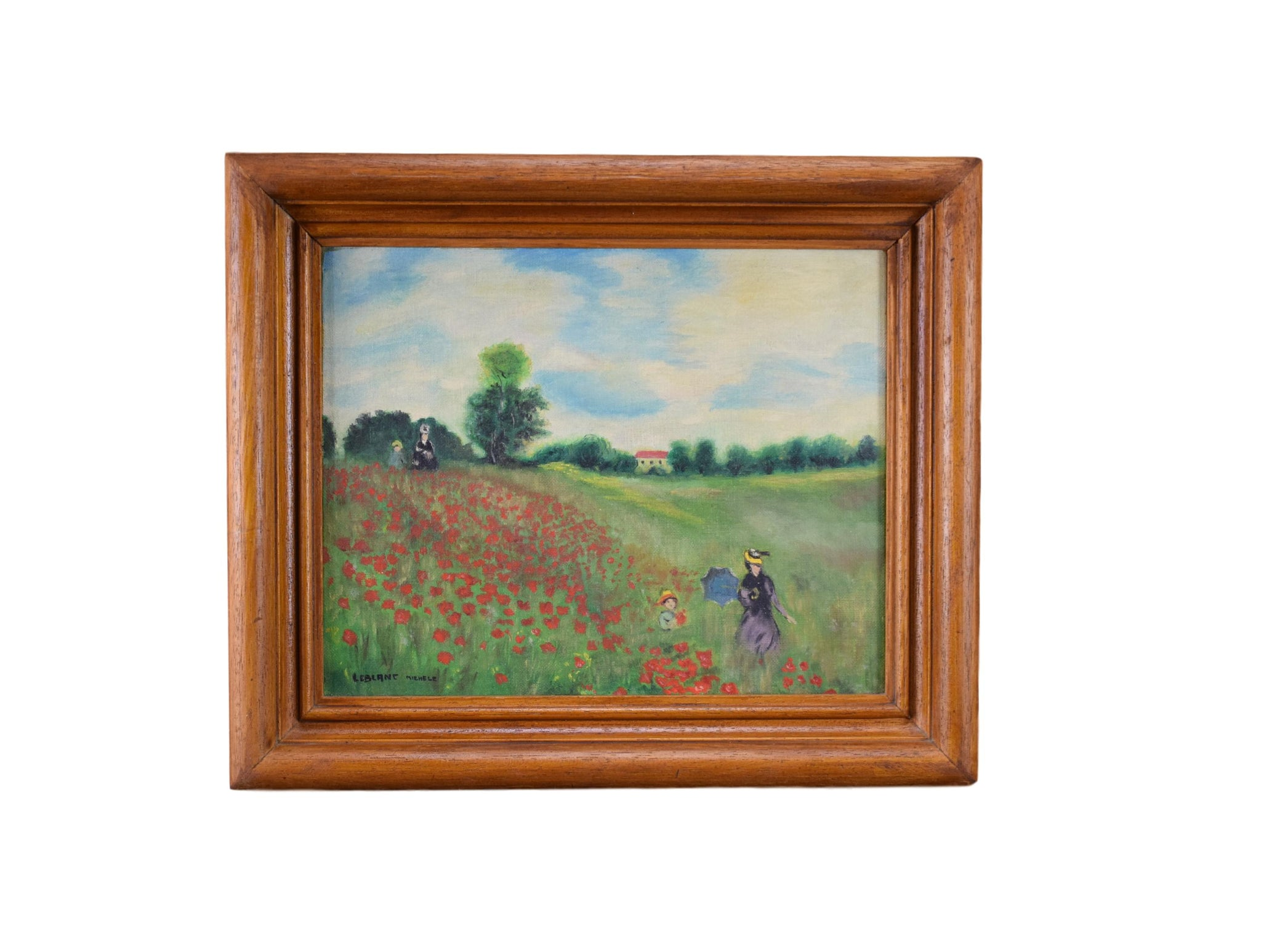 Poppy of Claude Monet - Charmantiques