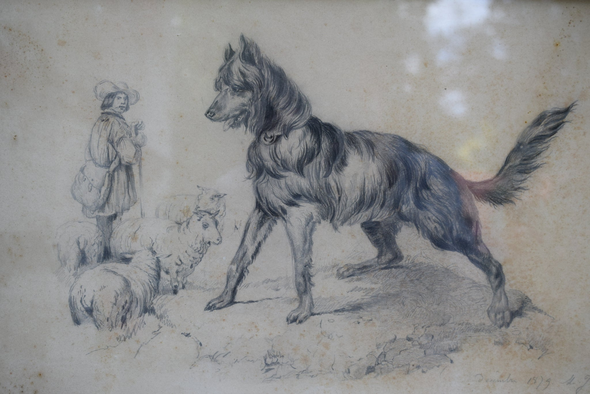 Antique Drawing - Charmantiques