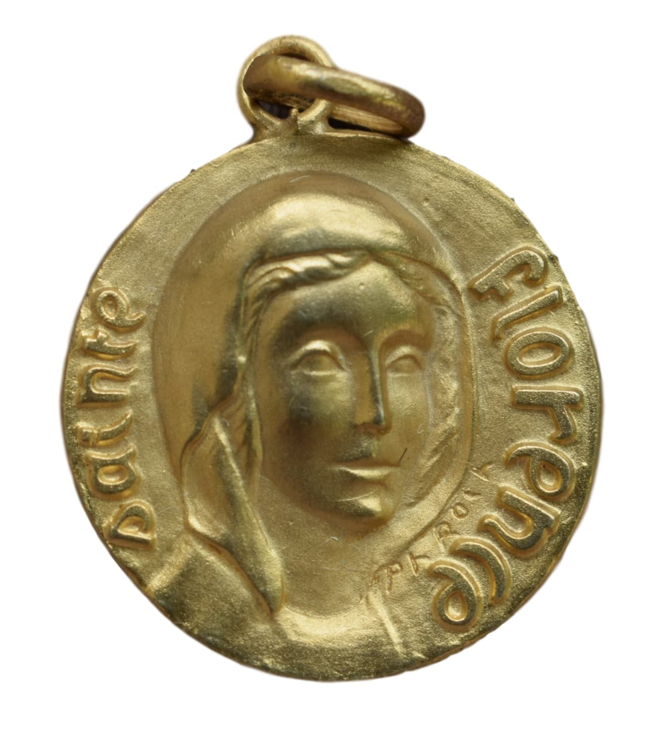 St Florence Medal - Charmantiques