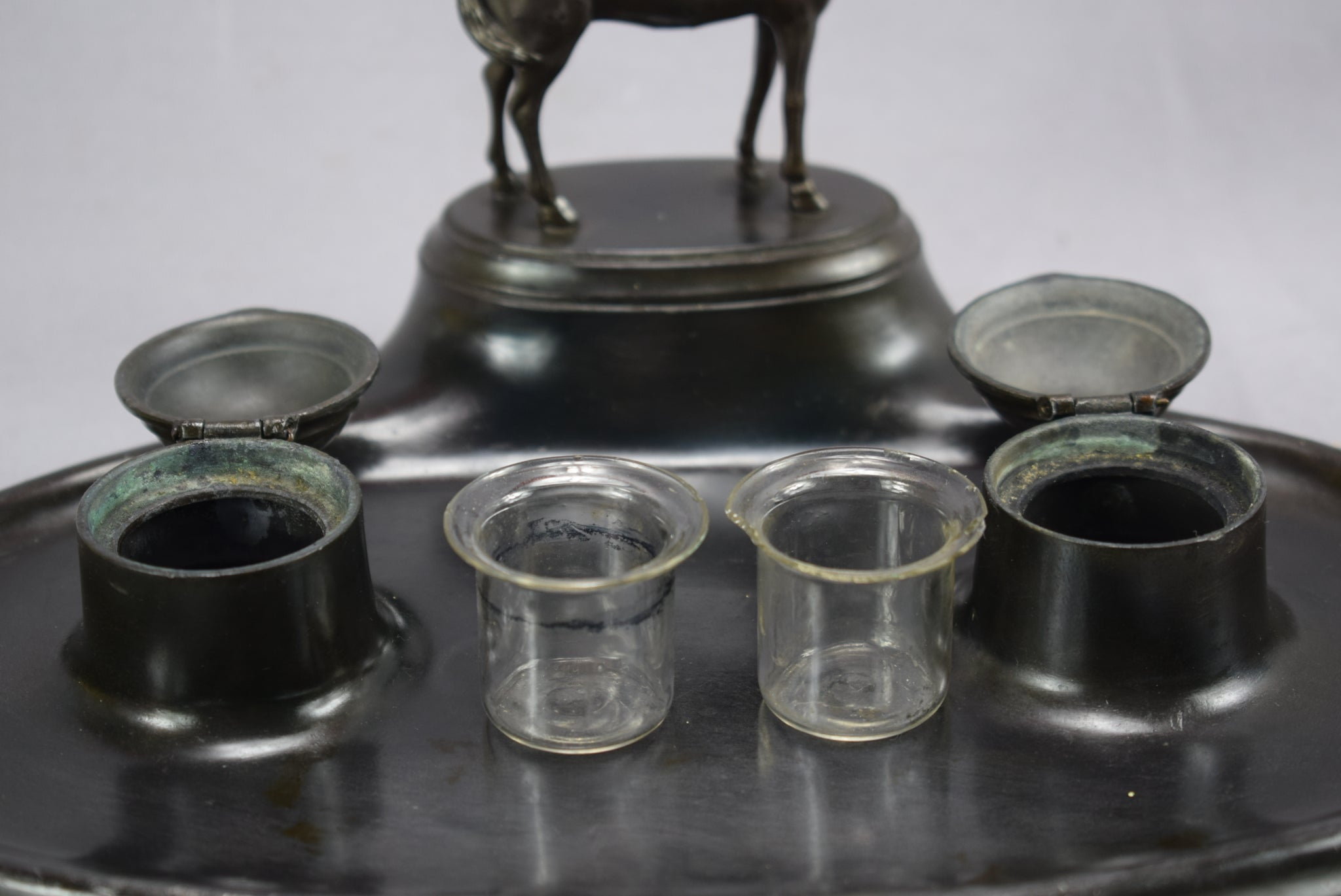 Horse Inkwell - Charmantiques