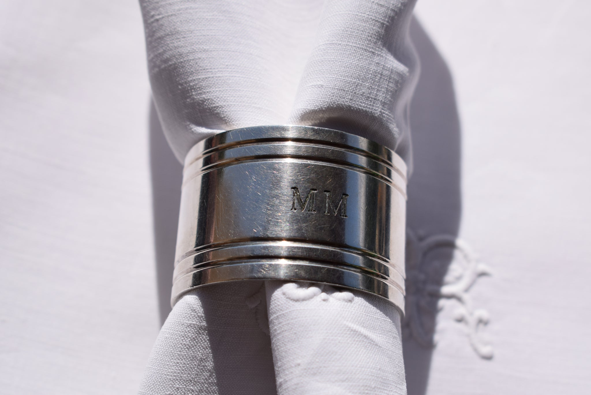 Christofle Napkin Ring - Charmantiques