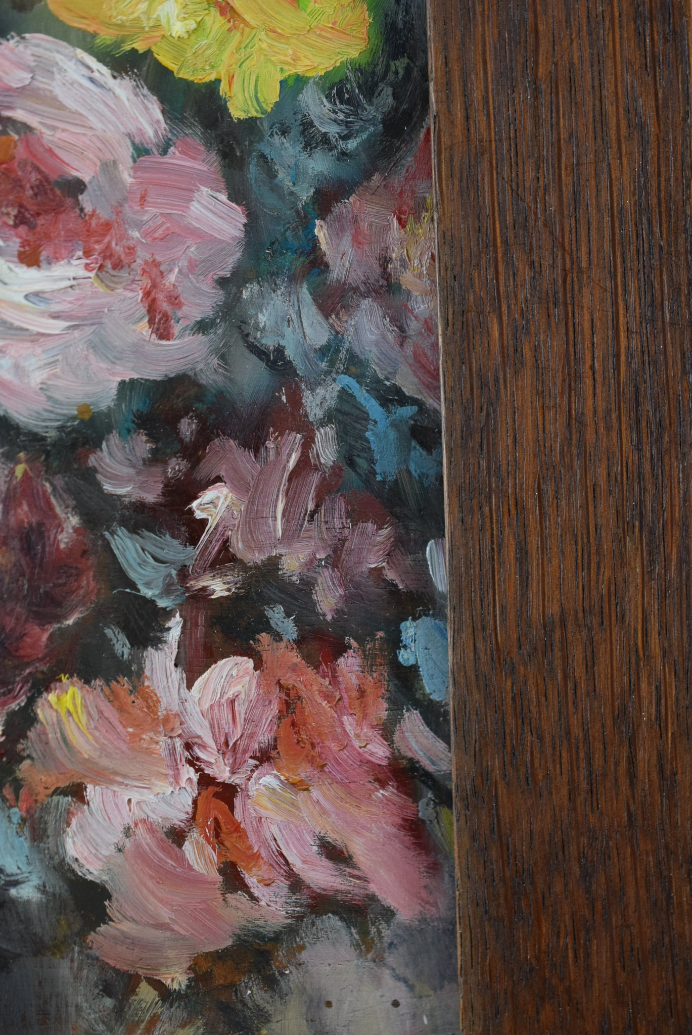 Bunch of Flowers Painting 1950