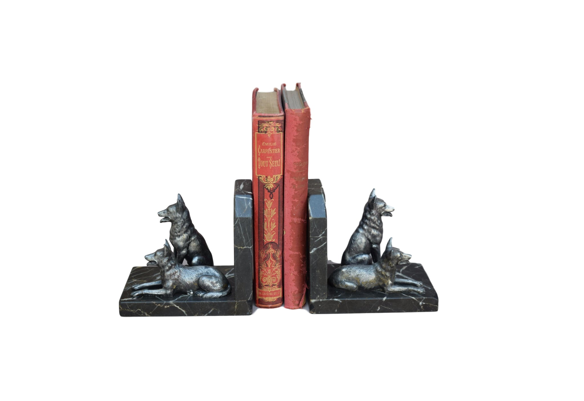 Dog Bookends - Charmantiques