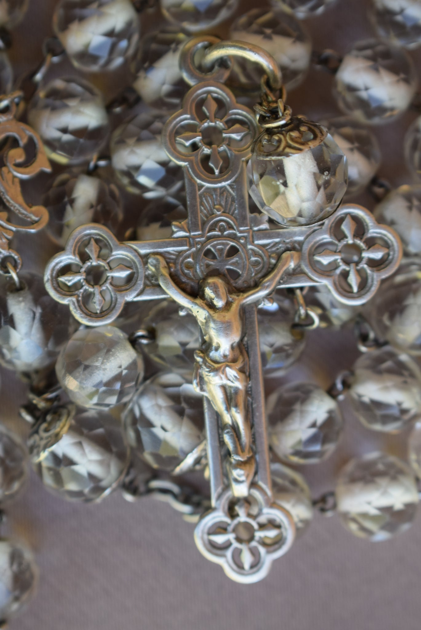 Large Crystal Rosary - Charmantiques