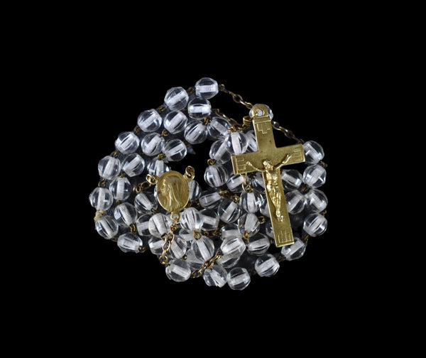 Lourdes Rosary Goldplated - Charmantiques