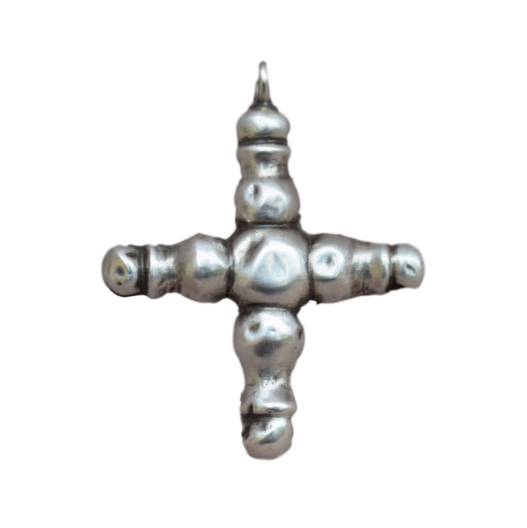 Antique Cross Pendant - Charmantiques