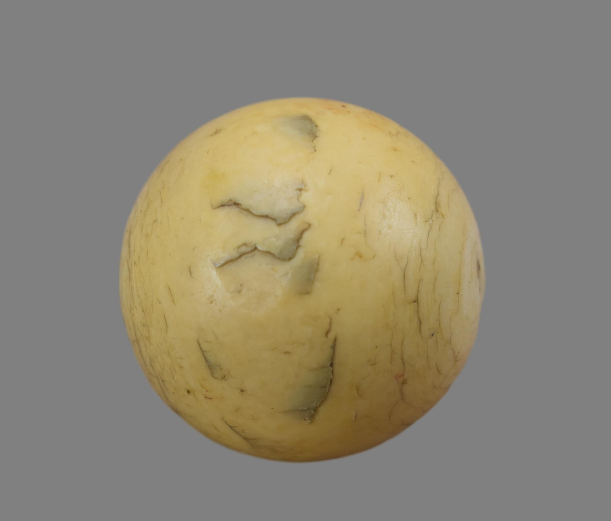 Ivory Billiard Ball - Charmantiques