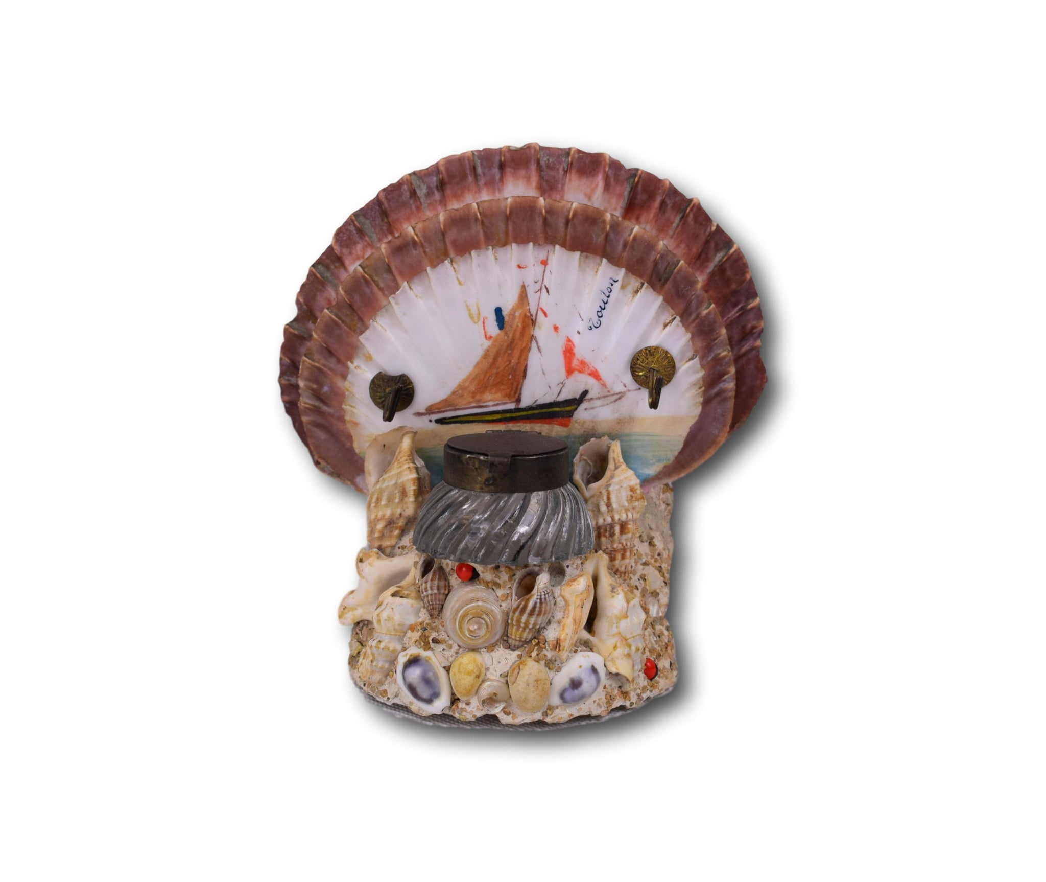 Shell Letter Holder - Charmantiques