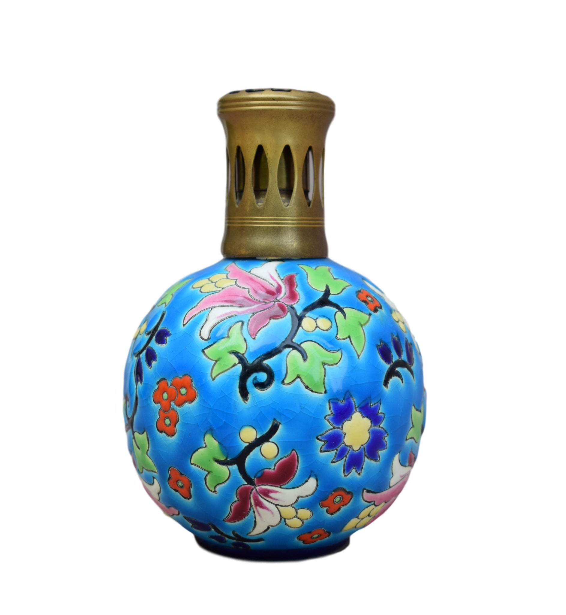 French Longwy Enamels LY Sevigne Lampe Berger Catalytic ...