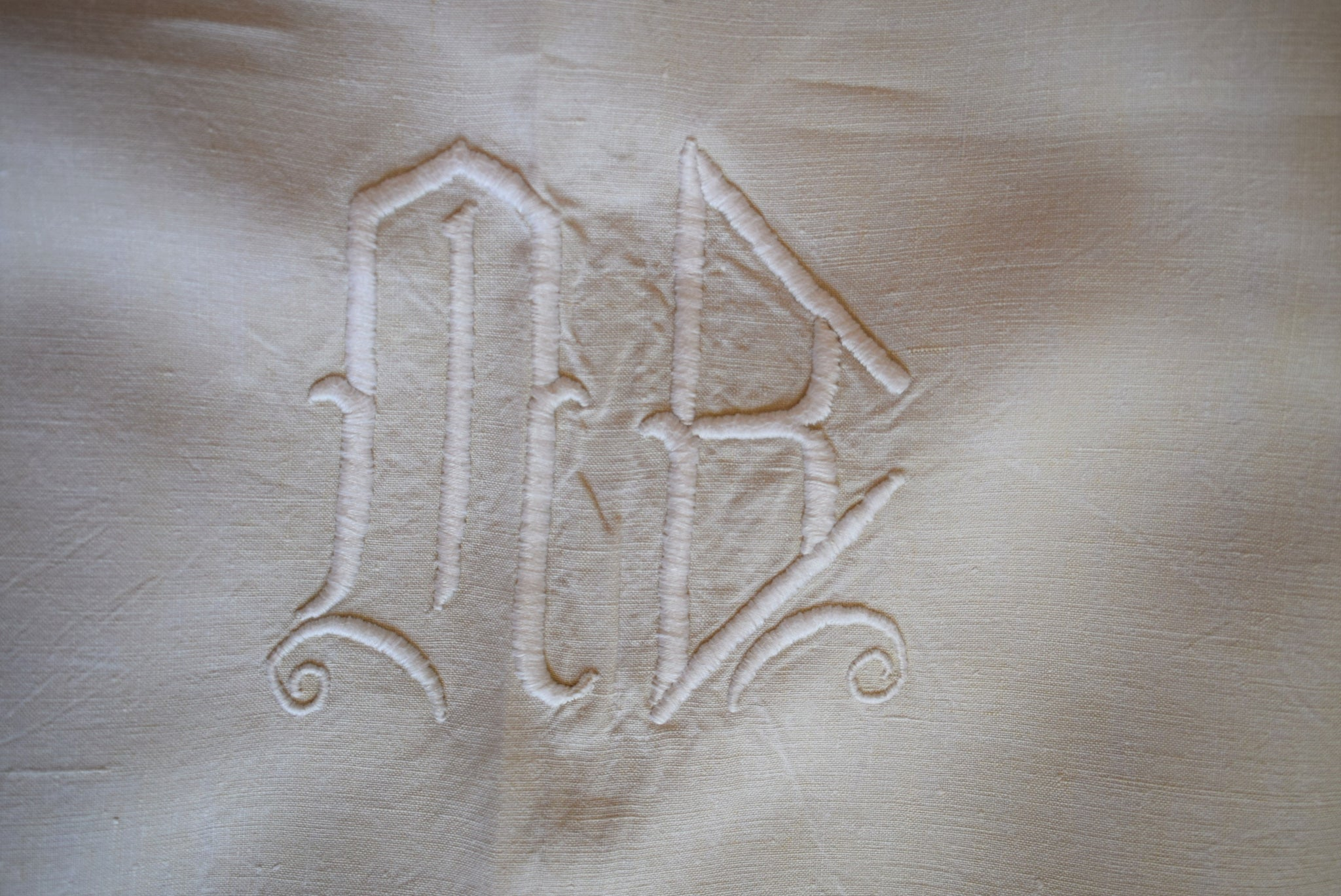 Embroidered Sheet - Charmantiques