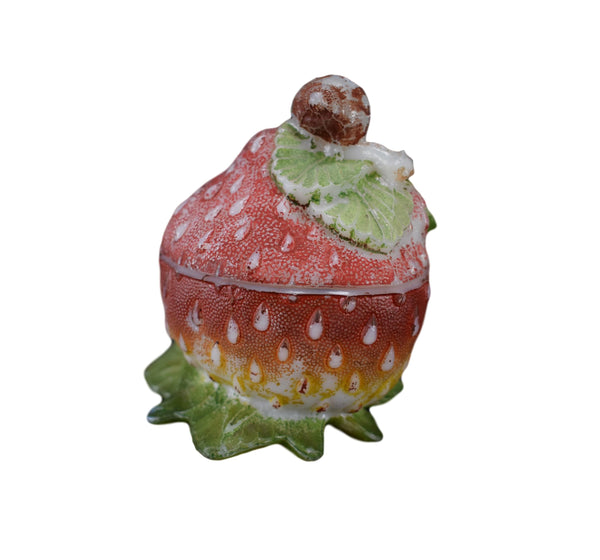 Strawberry and Snail Candy Dish - Charmantiques