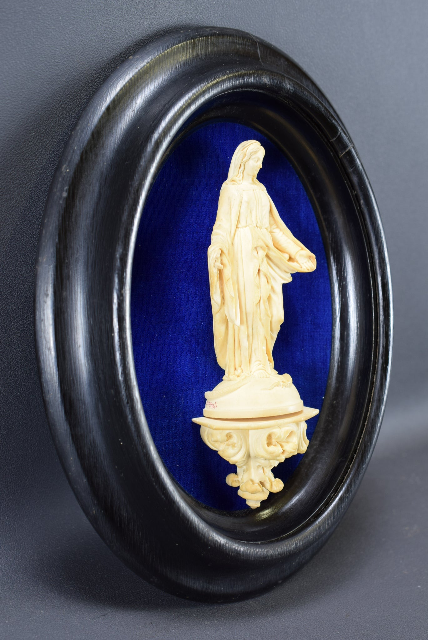 Mary Standing on a Snake Wall Frame