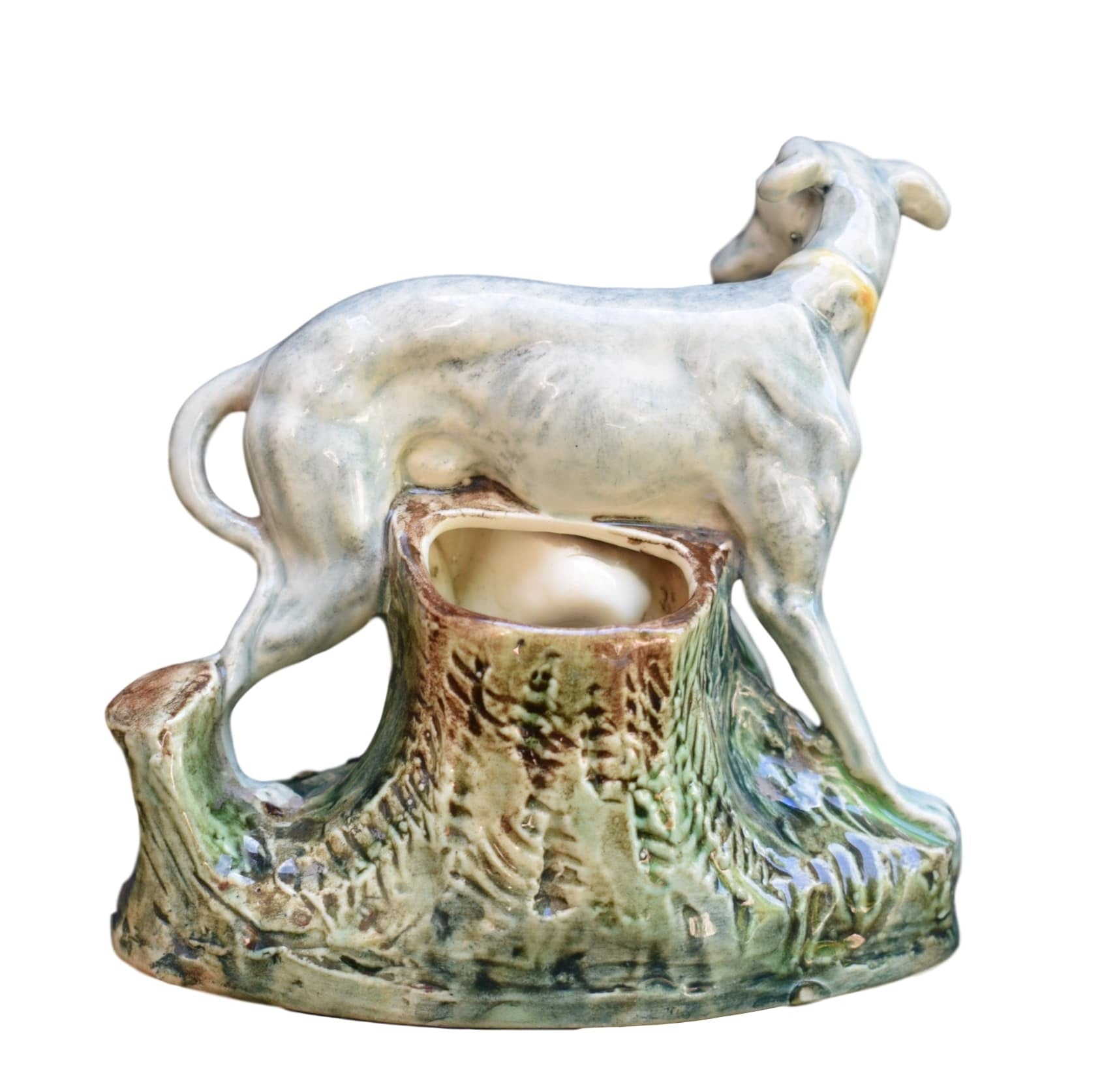 Porcelain Greyhound - Charmantiques