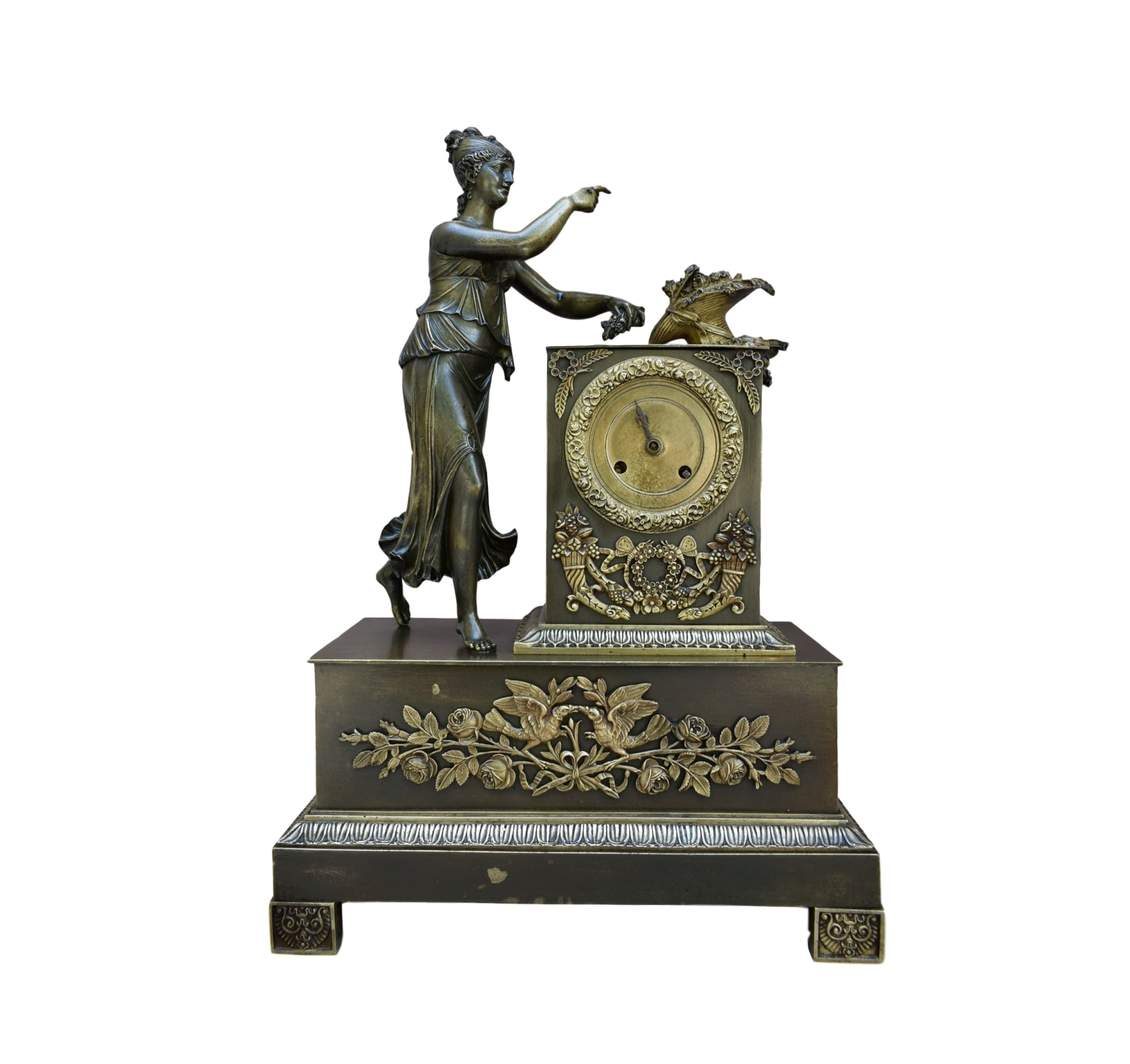 Empire Clock - Charmantiques
