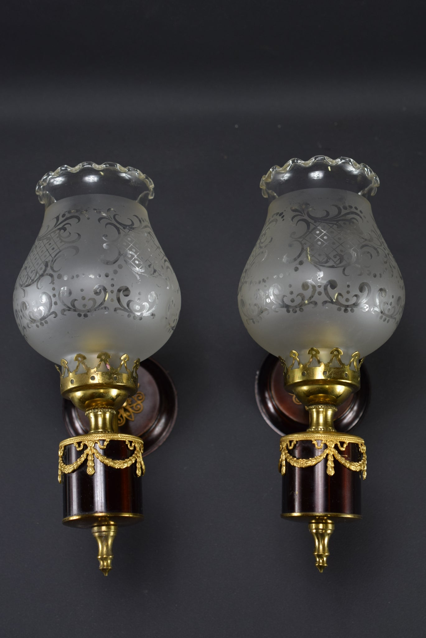 Small Pair of Wall Sconces
