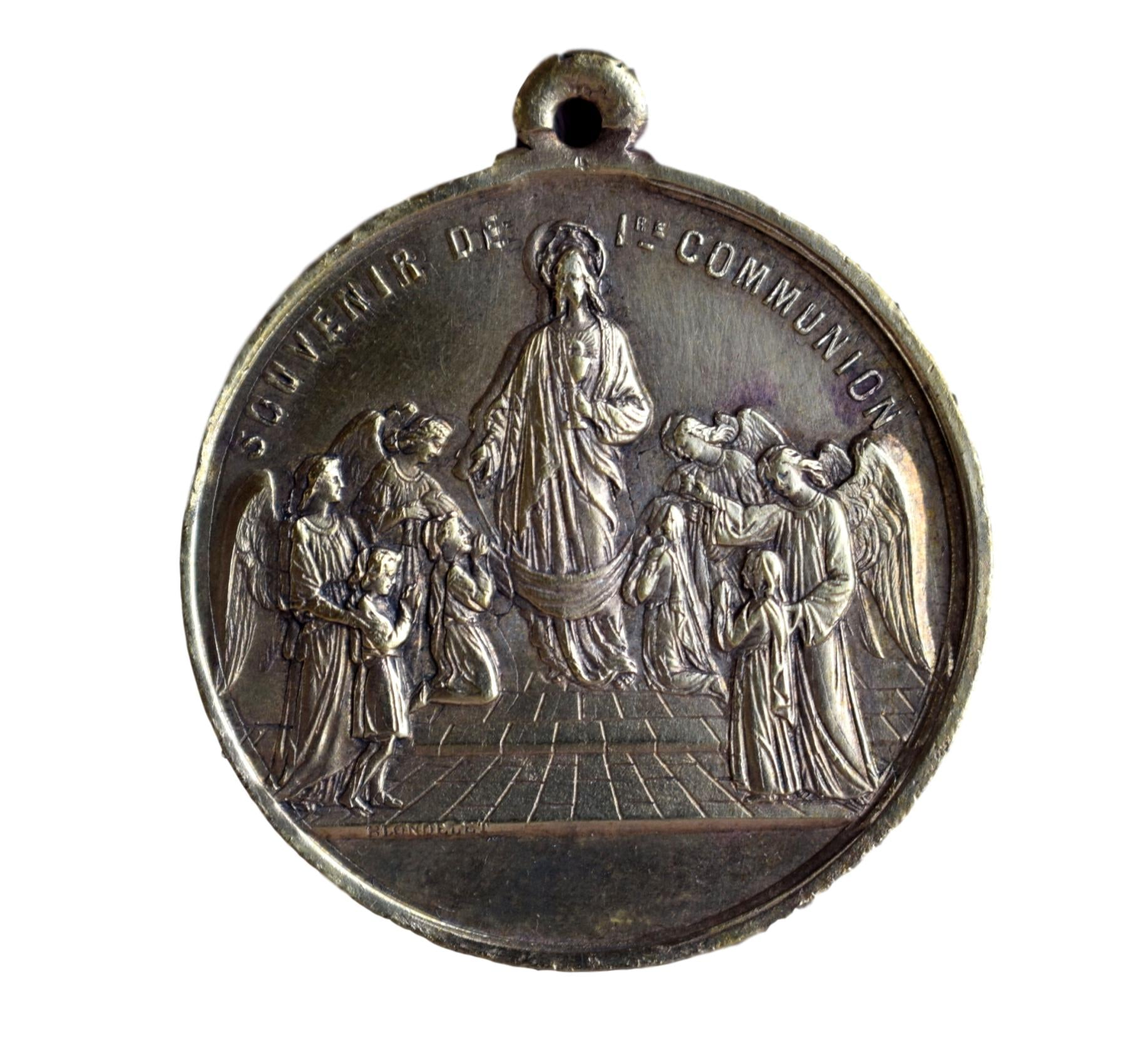 First Communion Medal - Charmantiques