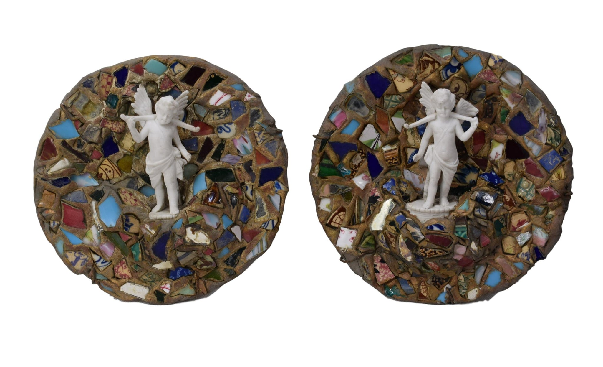 Mosaic and Angel Wall Plate