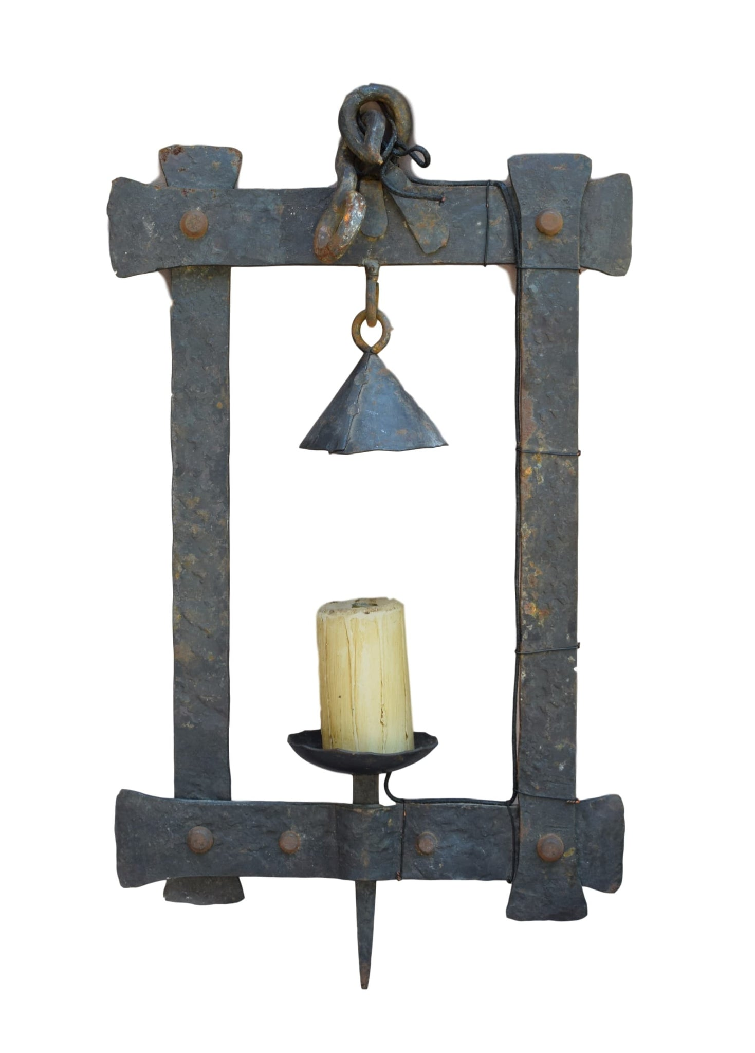 Wrought Iron Lamp - Charmantiques