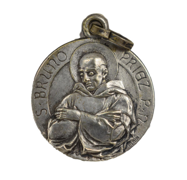 Saint Bruno Medal by Penin - Charmantiques