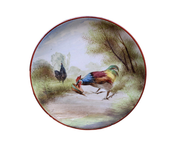 Rooster Plate - Charmantiques