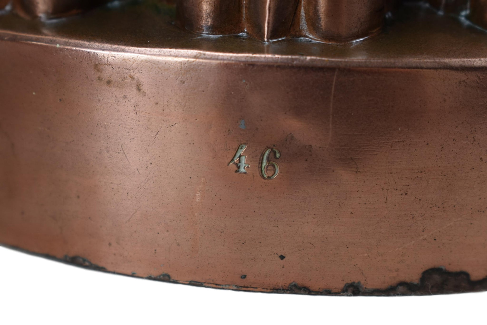Copper Crown Mould - Charmantiques