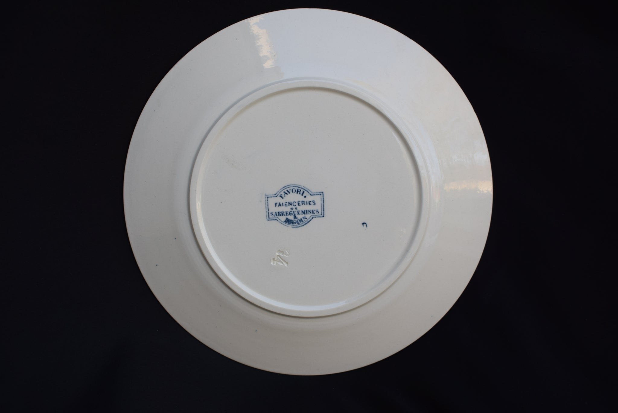 Favori Sarreguemines Dinner Plate - Charmantiques