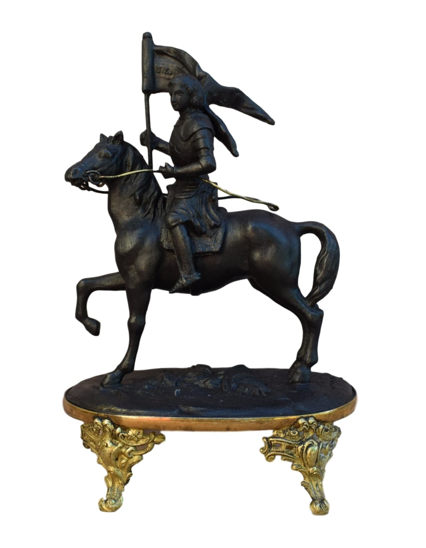 Napoleon III Saint Joan of Arc Statue - Charmantiques