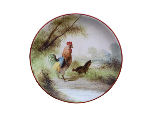 Hand Painted Plate - Charmantiques