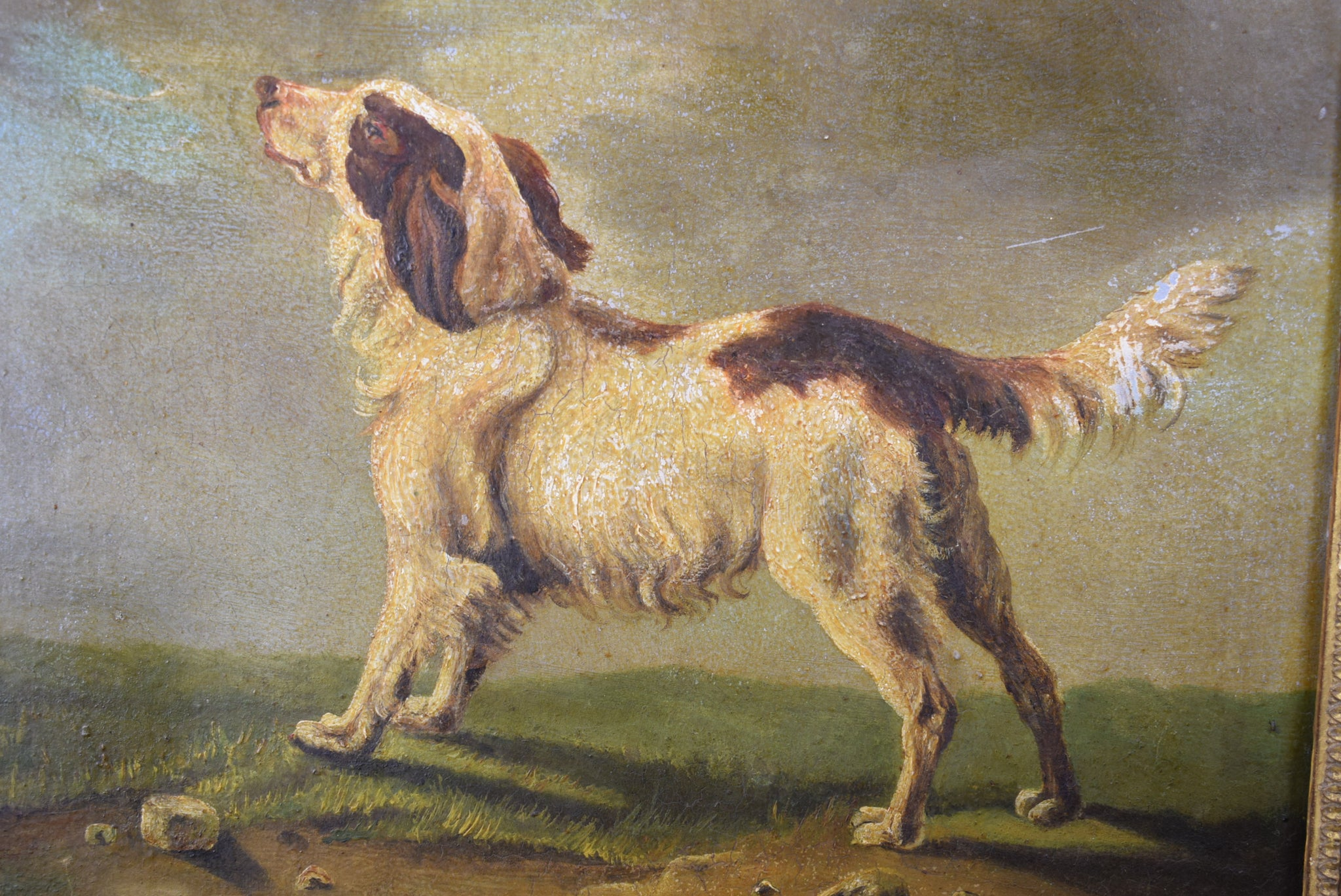 Empire Dog Painting - Charmantiques