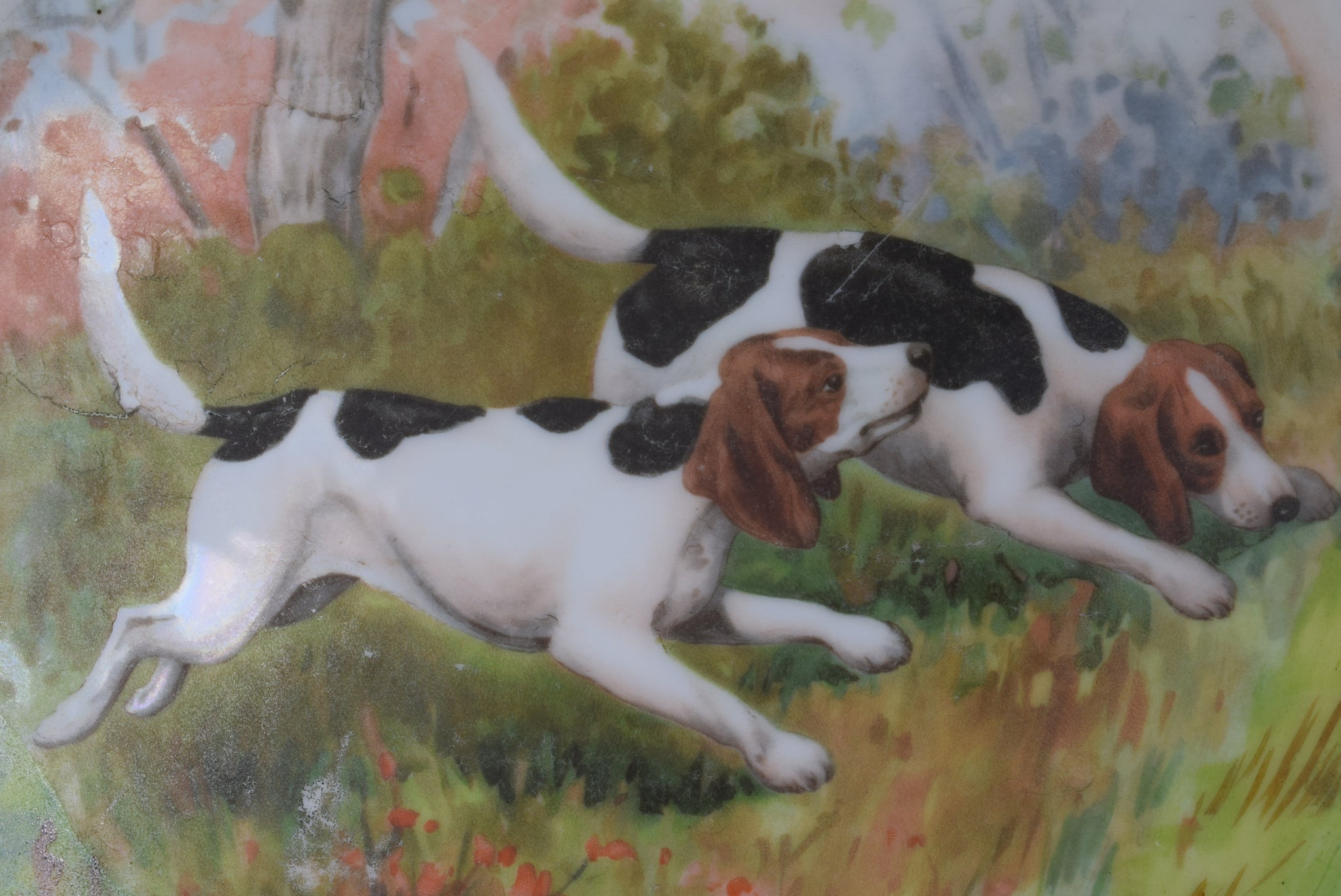 Hunting Dogs Tray - Charmantiques
