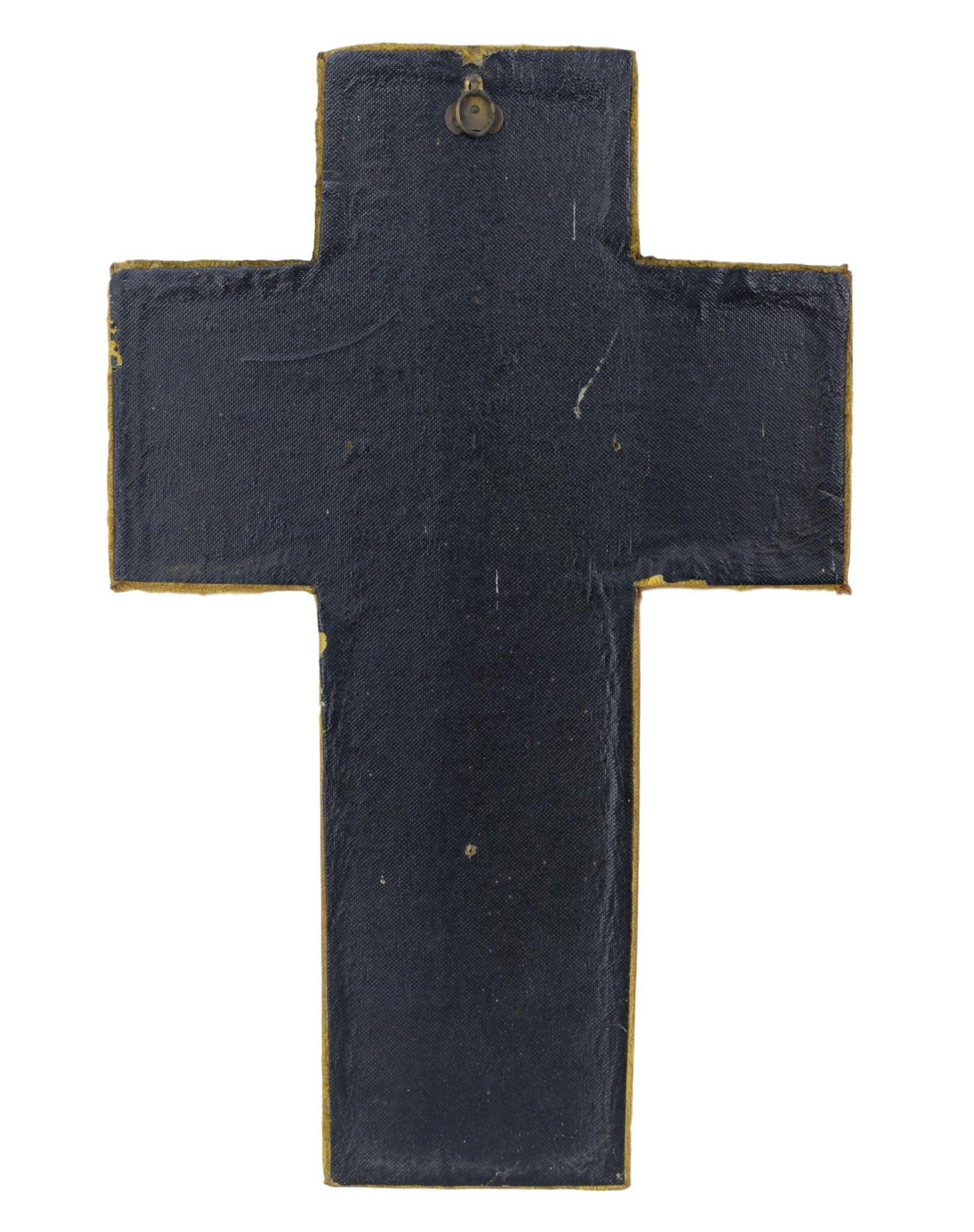 Large Yellow Wall Cross