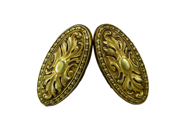 Pair of Bronze Knobs - Charmantiques