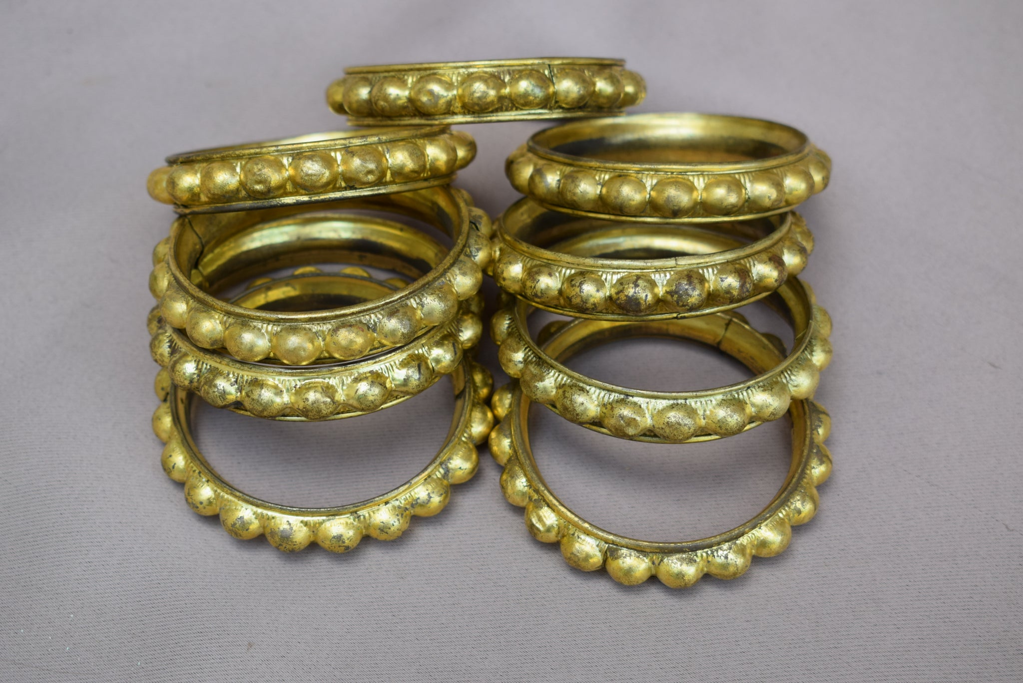 9 Curtain Rings - Charmantiques