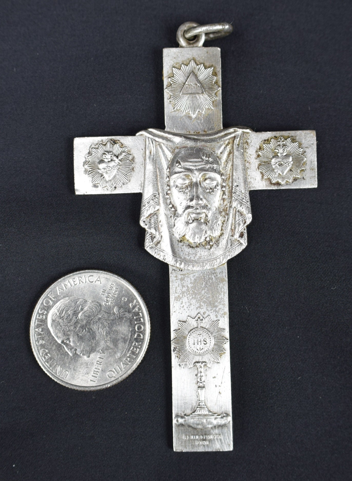 Holy Face Of Jesus by Penin Poncet - Charmantiques