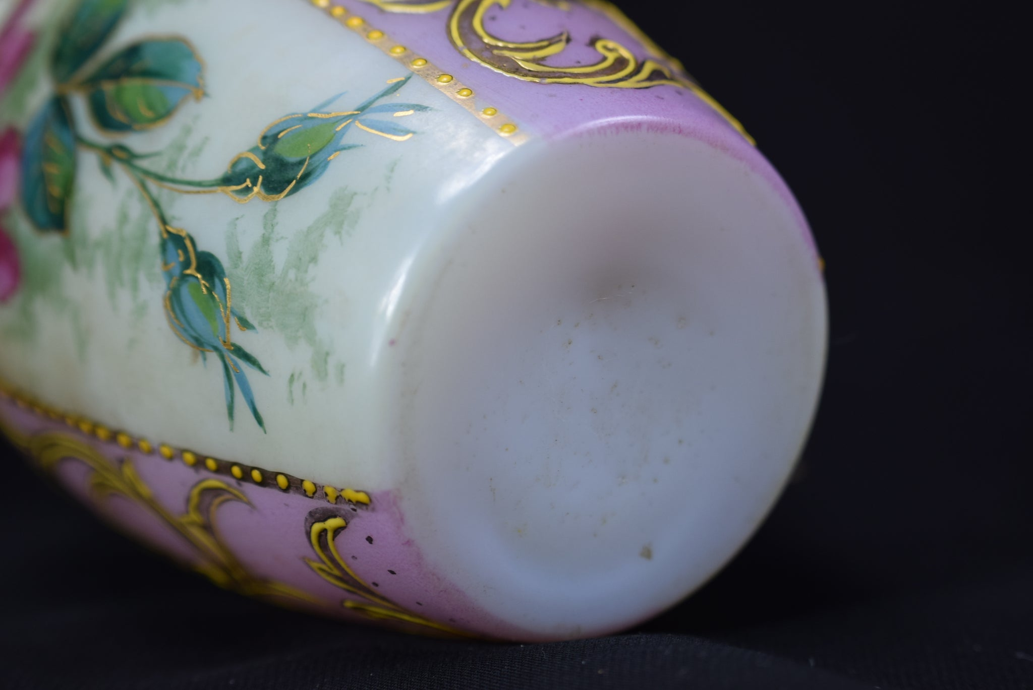 Small Opaline Vase - Charmantiques