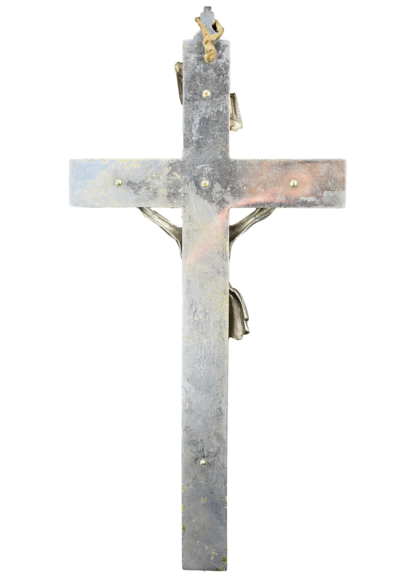 Nickeled Bronze Cross - Charmantiques