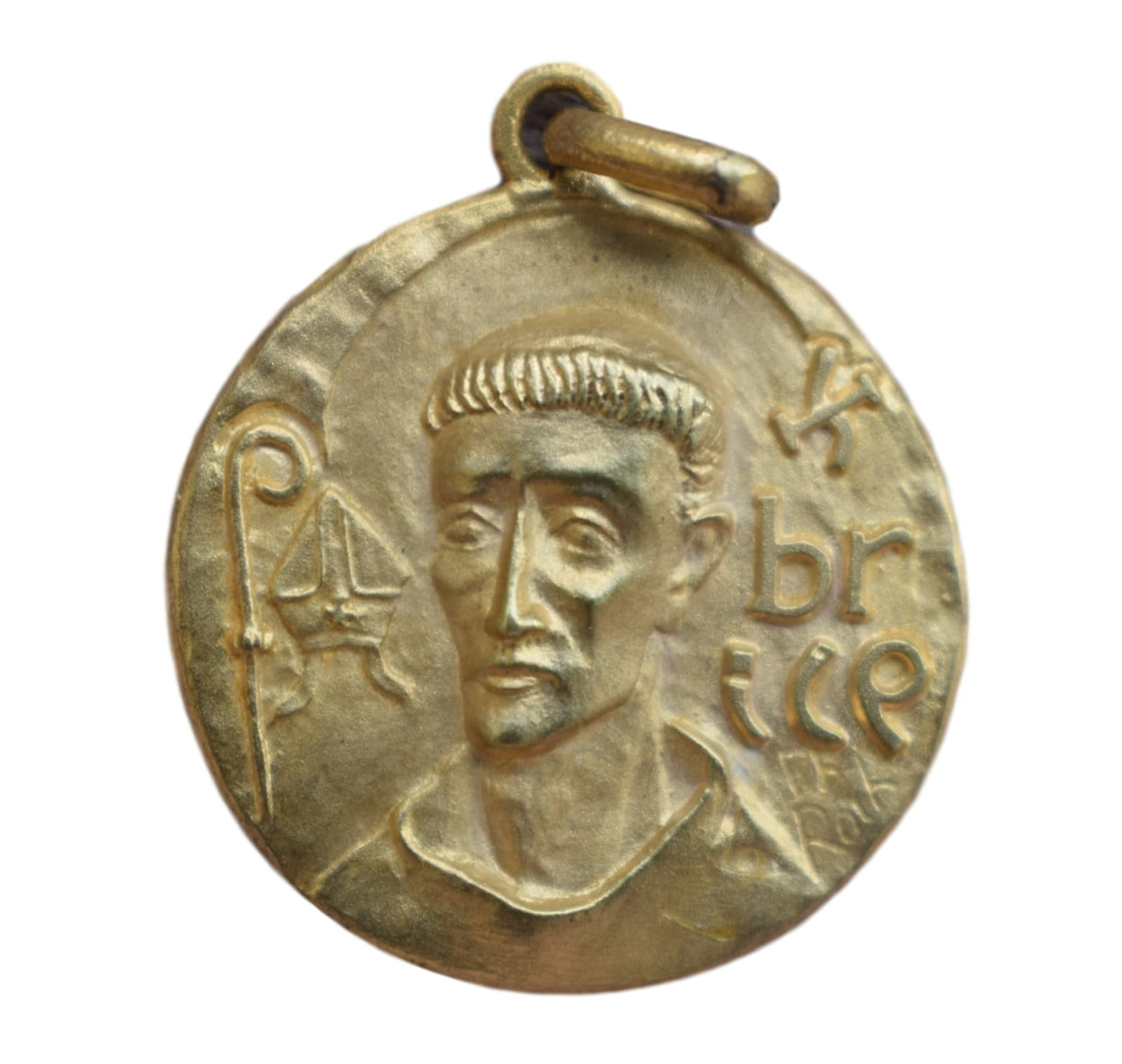St Brice Medal - Charmantiques
