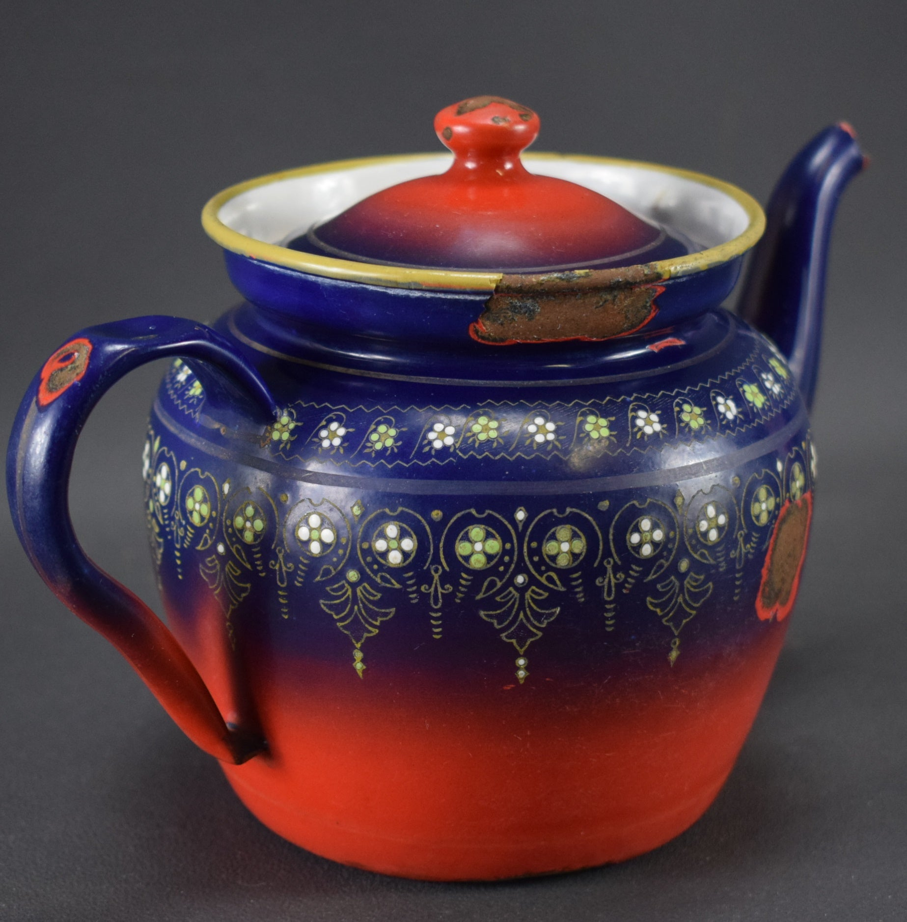 BB Enamel Tea Pot