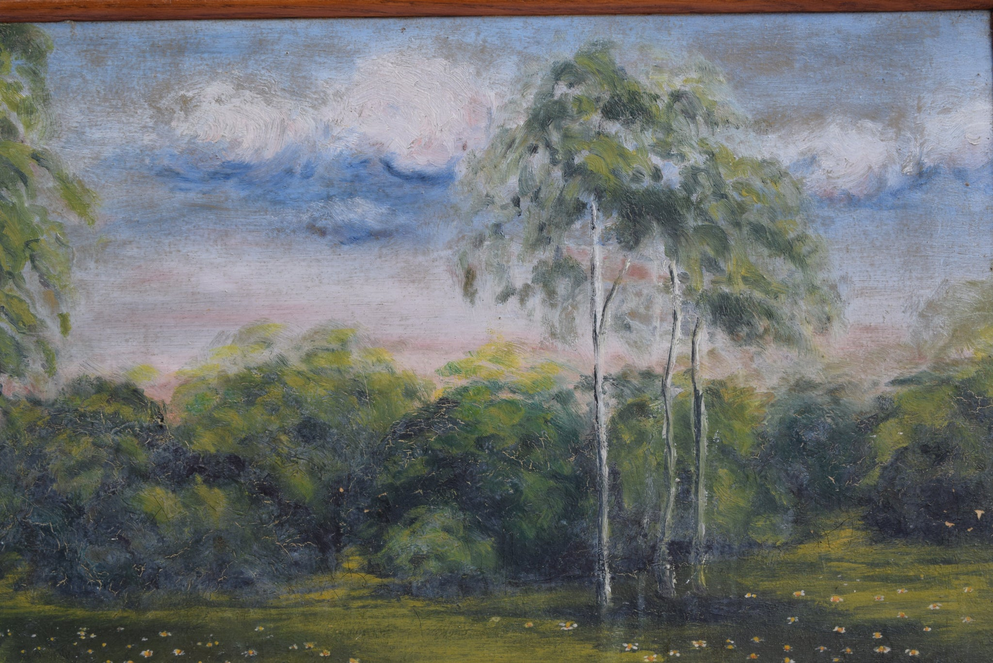 Impressionist Oil Painting - Charmantiques