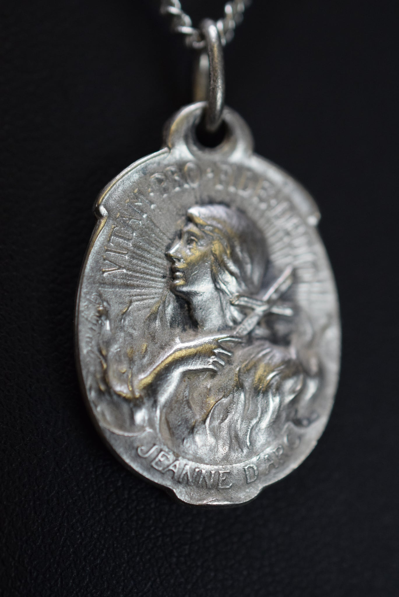 Saint Joan of Arc at the Stake Medal
