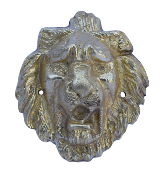 Sold Ormolu Bronze Lion - Charmantiques